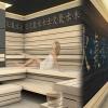 Neue YAKISUGI - Sauna im Tatami